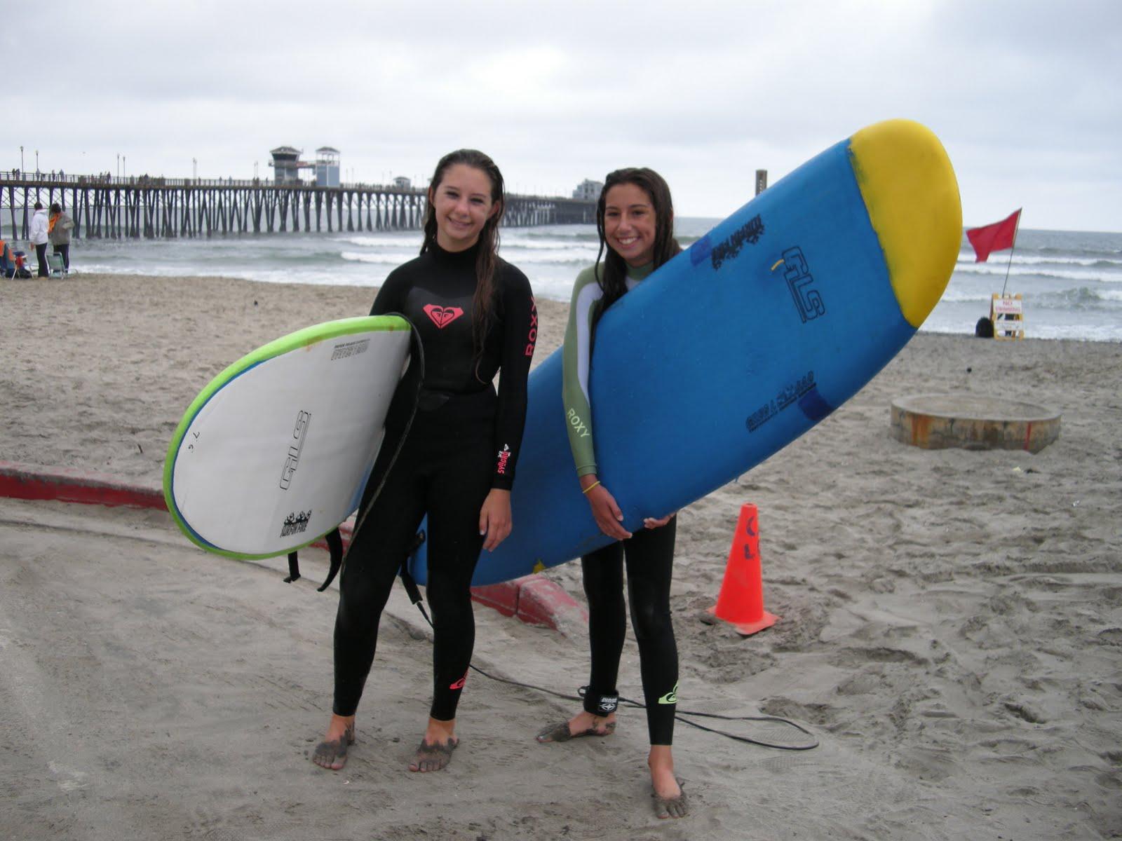 Curso en San Diego, EEUU para jóvenes de 14 a 18 años. Grupo con monitor