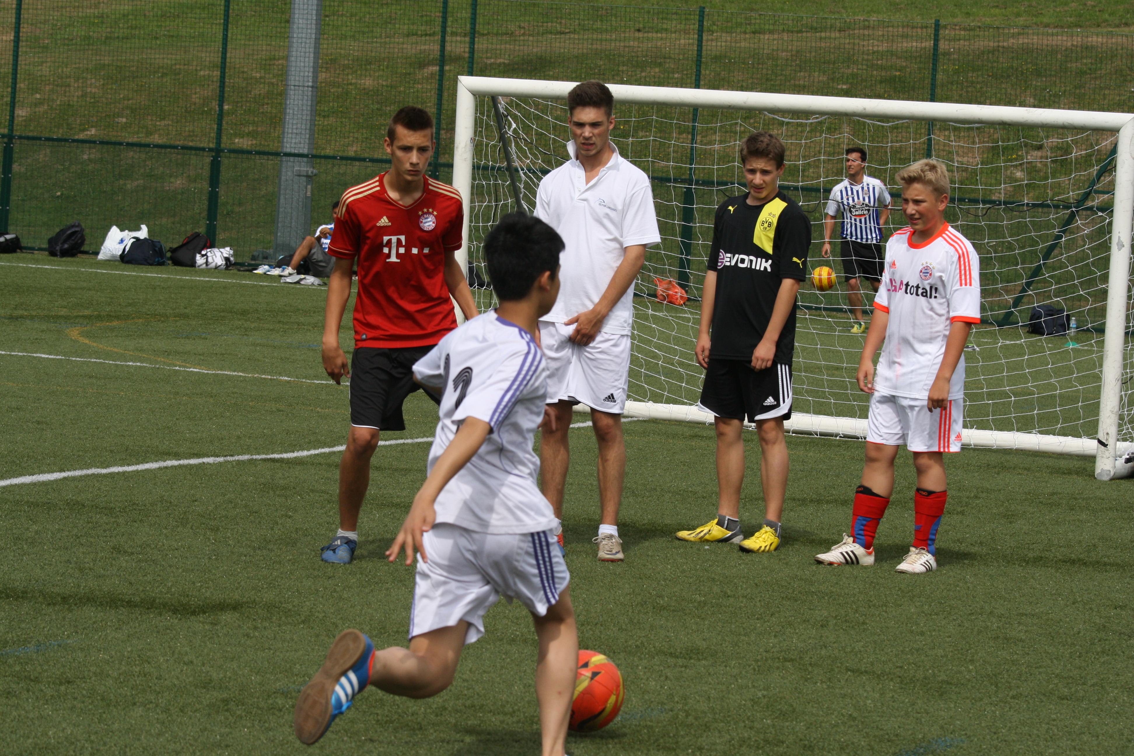Summer Camp con Niños Irlandeses 10-13 años – Grupo con Monitor
