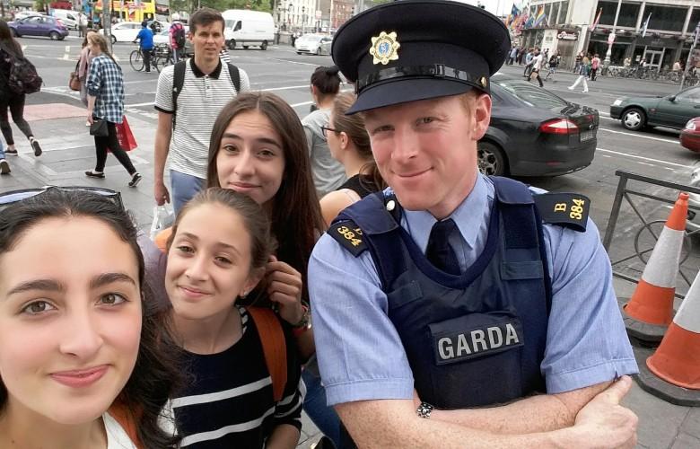 Curso de Inglés en Dublín para jóvenes en Residencia. Grupo con Monitor.